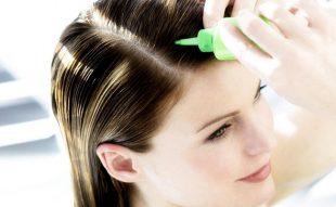 Hiusöljyhoito – askel askeleelta